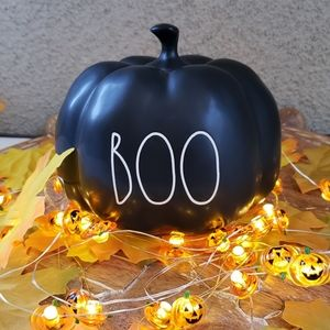 New Rae Dunn BOO small Pumpkin